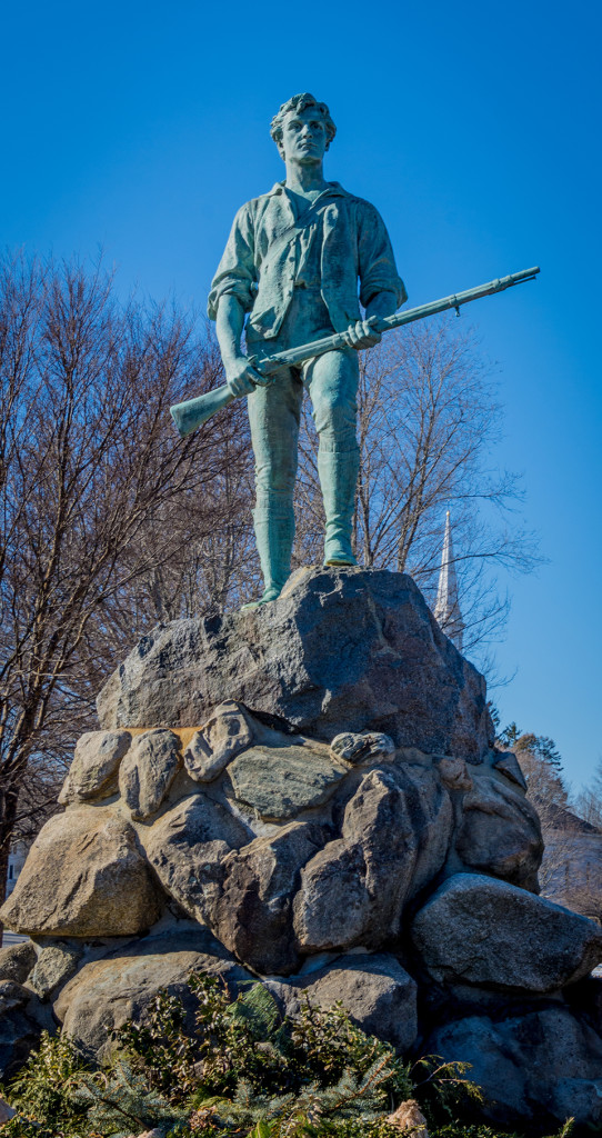 Minuteman Monument in Lexington