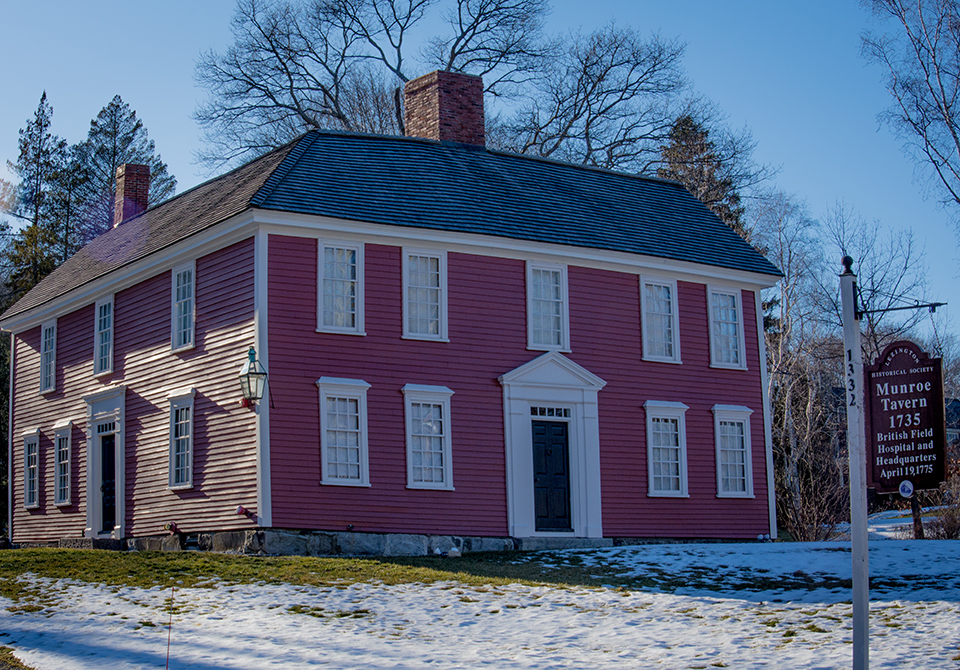 Munroe Tavern 1735, Lexington, Massachusetts