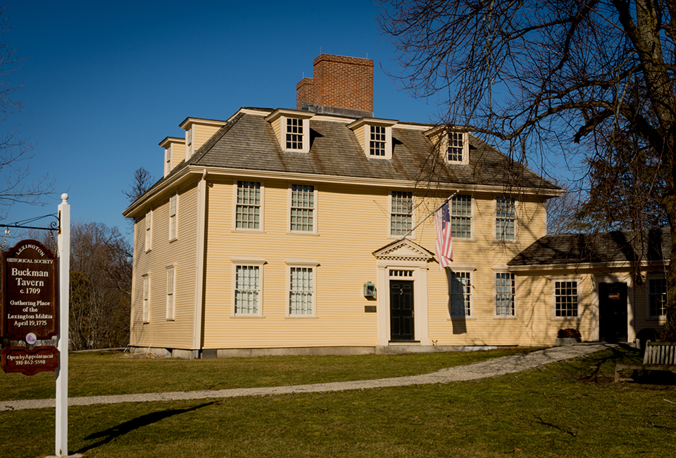 The Buckman Tavern 1709, Lexington, Massachusetts