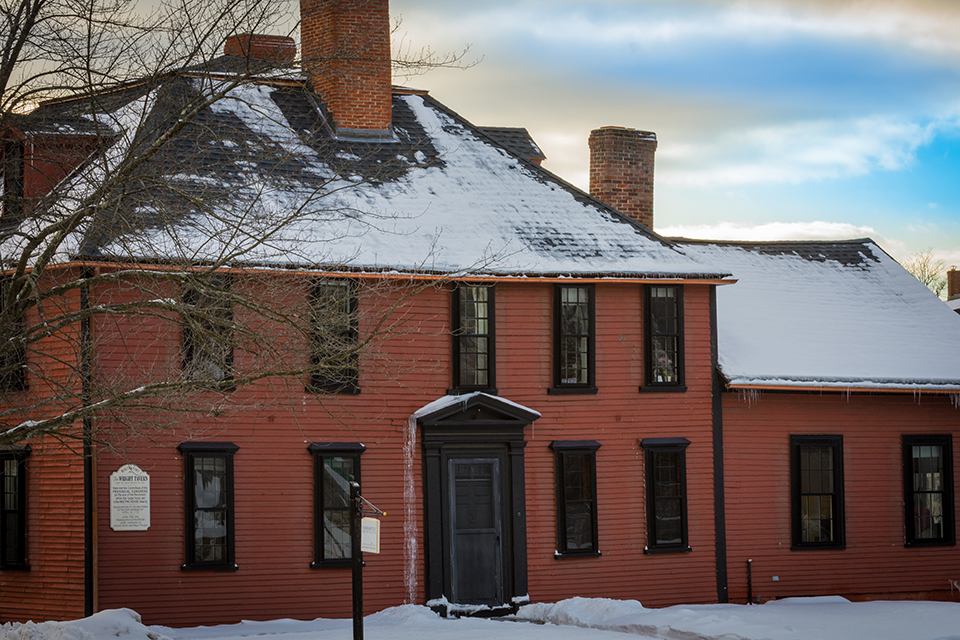 The Wright Tavern in Concord, Massachusetts